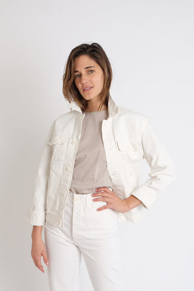 Jesse Kamm - Ranch Jacket in Salt White