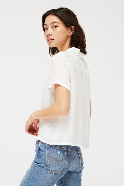LACAUSA - Button Blouse
