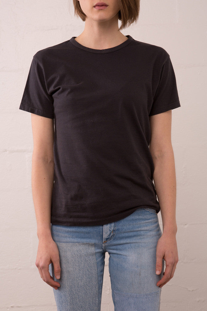 Two Son - Vintage Tee in Vintage Black