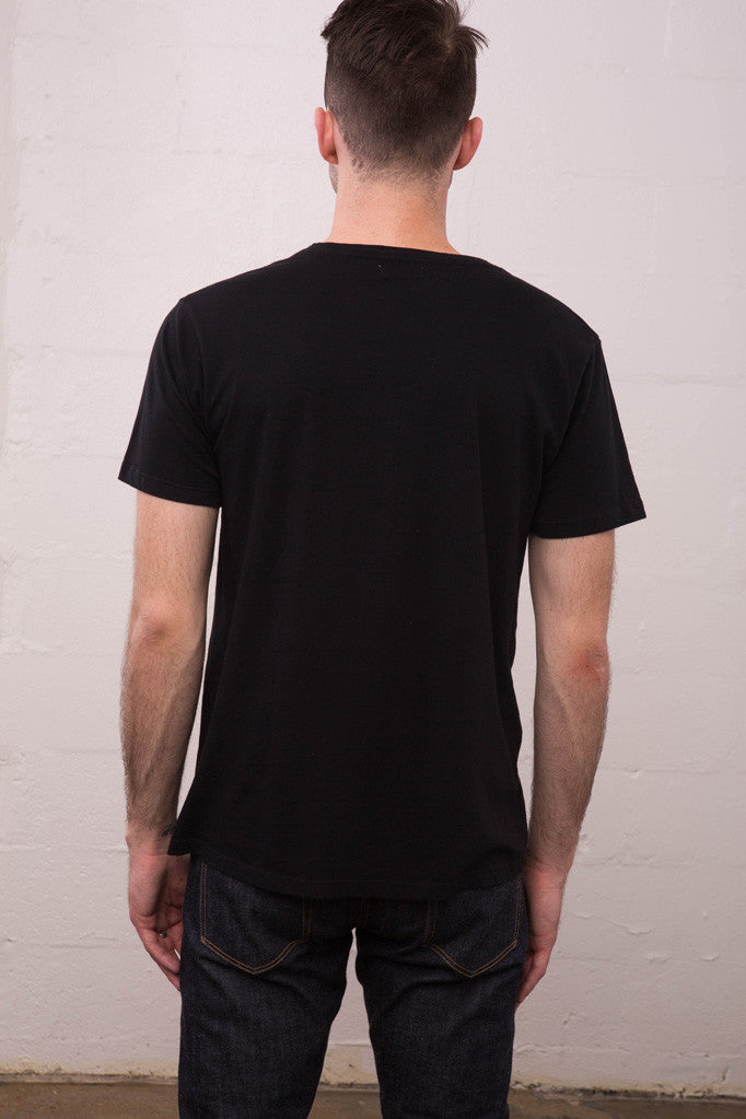 Two Son - Crew Neck Tee Black