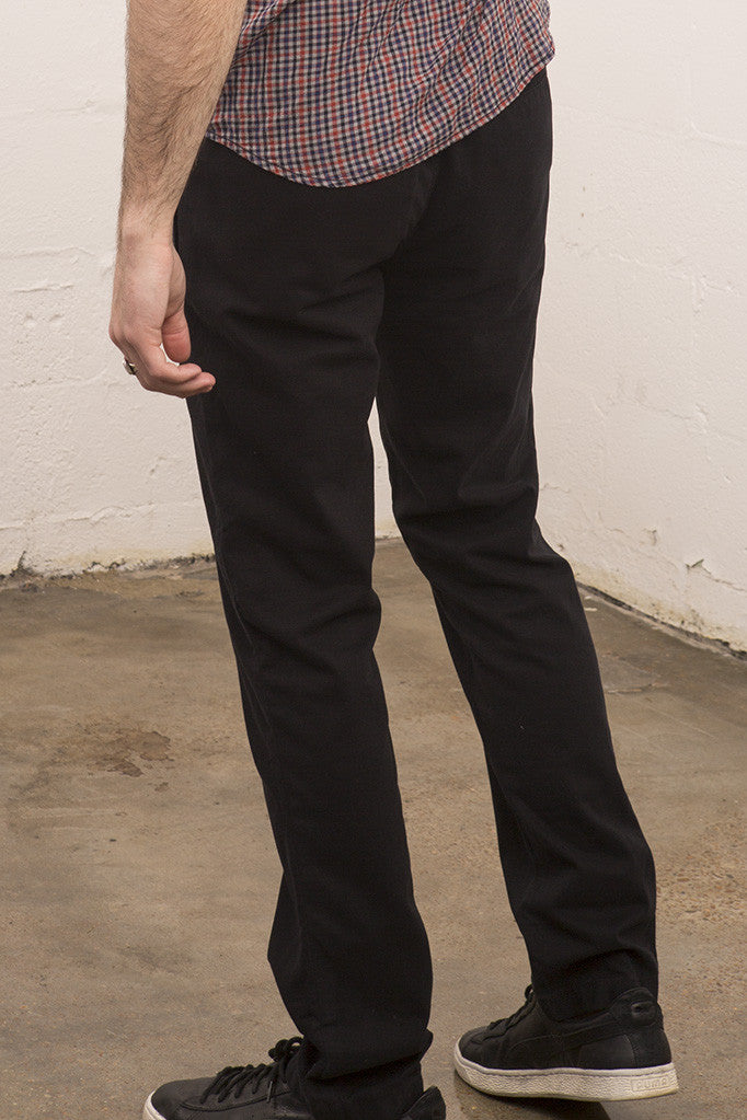 Life After Denim - Modern Slim Black Chino