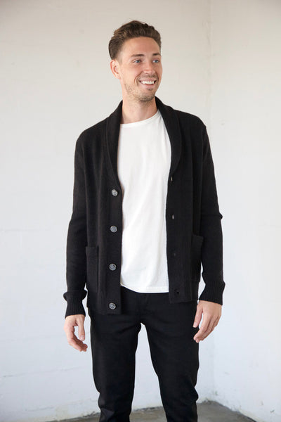 Life After Denim - Alps Cardigan in Black