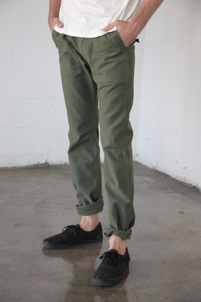 Tellason - Fatigue Pant in Olive