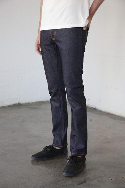 Nudie Jeans - Grim Tim in Dry Open Navy