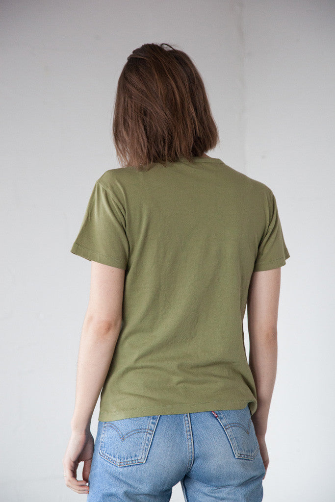 Two Son - Vintage Tee in Army