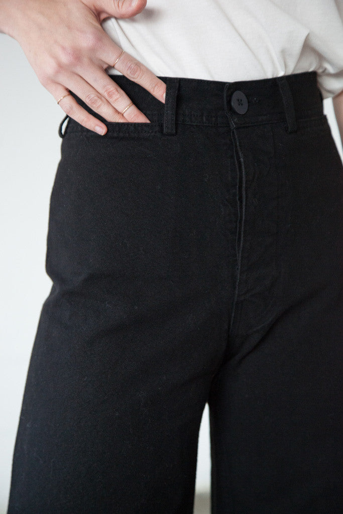 Jesse Kamm - Sailor Pant in Black