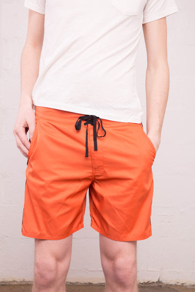 Outerknown - Pocket Evolution Trunk in Sundown Orange