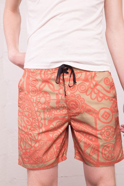 Outerknown - Pocket Evolution Trunk in Acid Aloha Desert