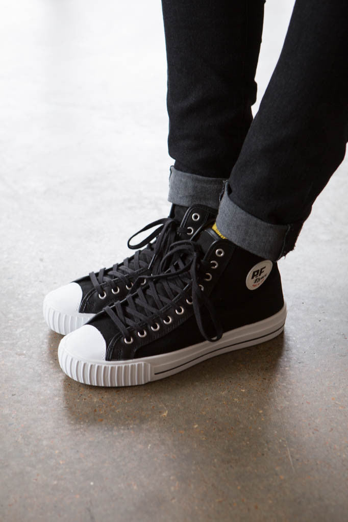 P.F. Flyers - Made in the USA Center Hi in Black