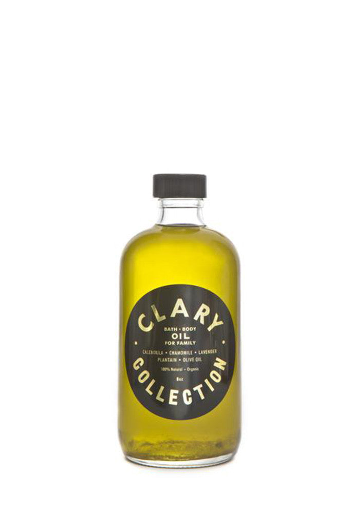 Clary Collection - Clary Bath and Body Oil for Family