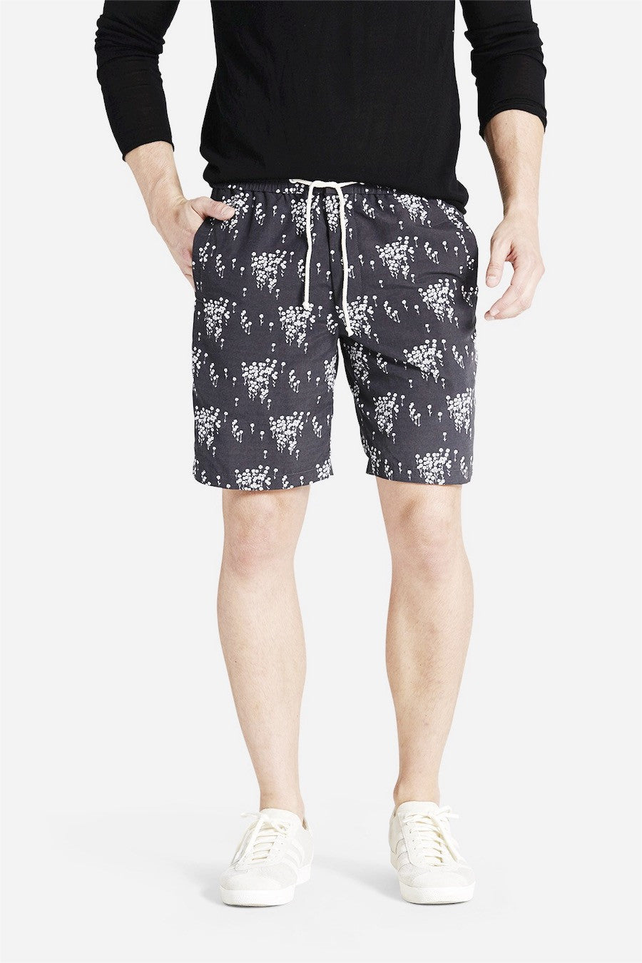 Life after Denim - Oxeye Board Short in Dark Grey