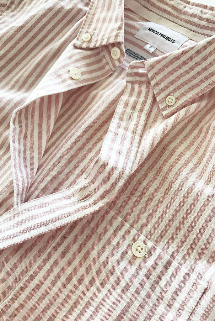Norse Projects - Anton Oxford in Pink