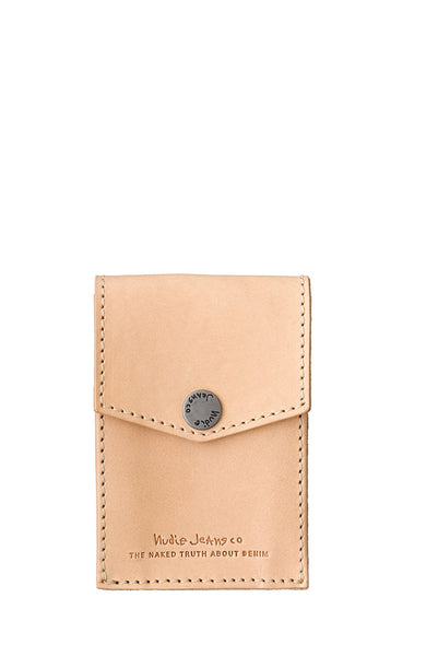 Nudie Jeans - Edvardsson Card Holder in Natural