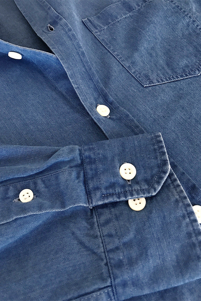 Norse Projects - Anton Denim Shirt in Sunwash