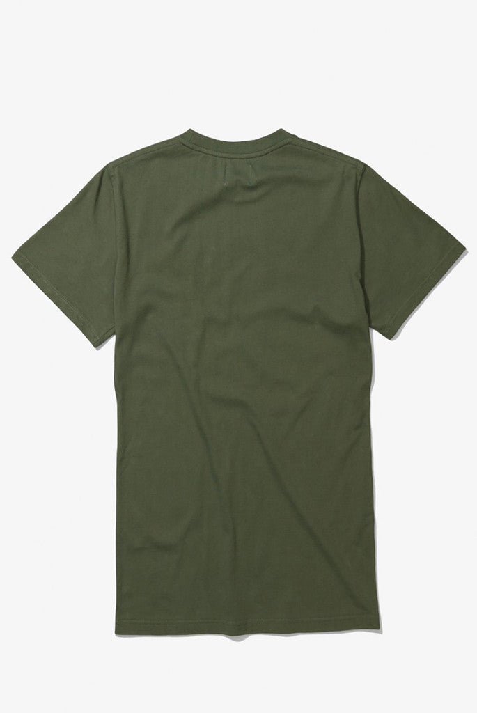 Norse Projects - Niels Basic Tee in Dried Olive