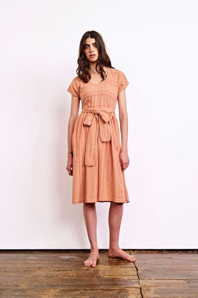 Ace & Jig - Luna Dress in Clay