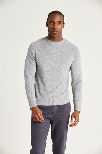 Life After Denim - Columbia Cashmere Sweater in Grey