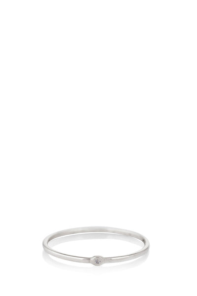 Scosha -  Memory Ring Diamond/Silver