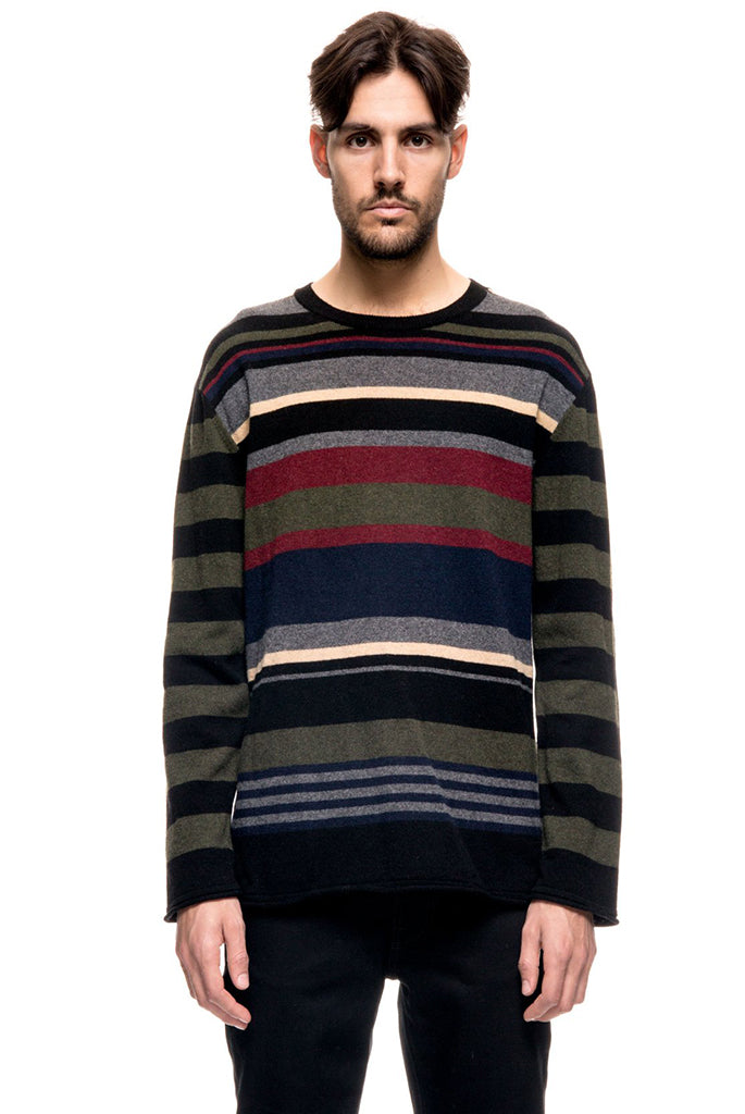 Nudie Jeans - Loffe Kurbits Striped Sweater