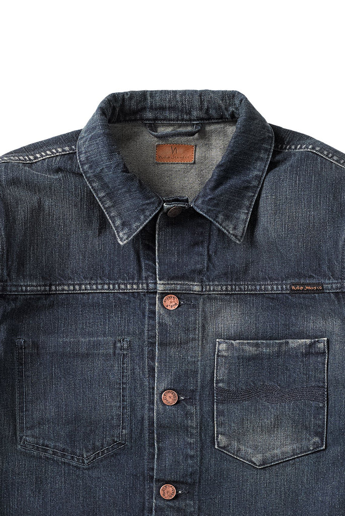 Nudie Jeans - Ronny Dark Worn Denim Jacket