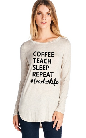 Magnolia Mill Teacher Tee
