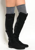 Magnolia Mill Knee High Socks
