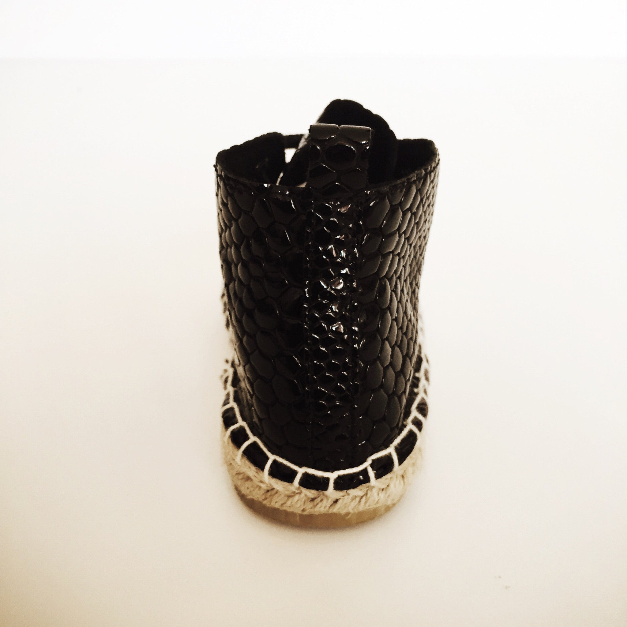 Gator, Gator Boot (Black Crocodile)