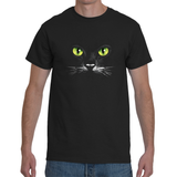 Eyes (Black Cat)- T- shirt