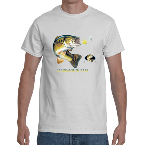 Largemouth Bass Combination W/Crest T-Shirt