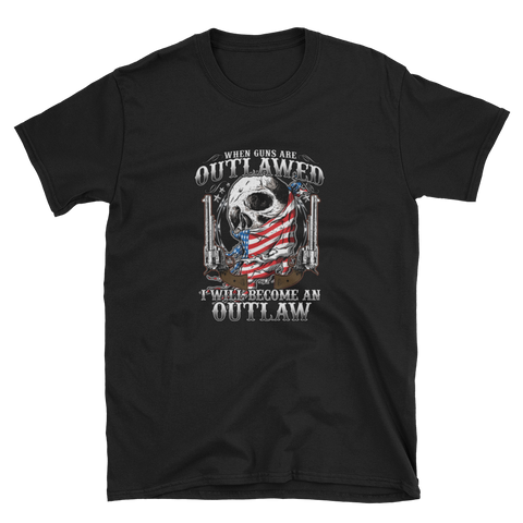Become An Outlaw - T- shirt