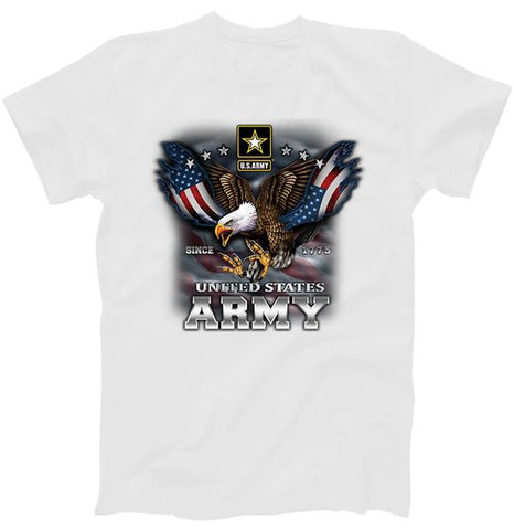 U.S. Army Eagle And Flag T-Shirt