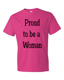 Proud to be a Woman - Text