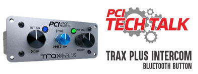 Trax Plus Intercom - Using the Bluetooth Button