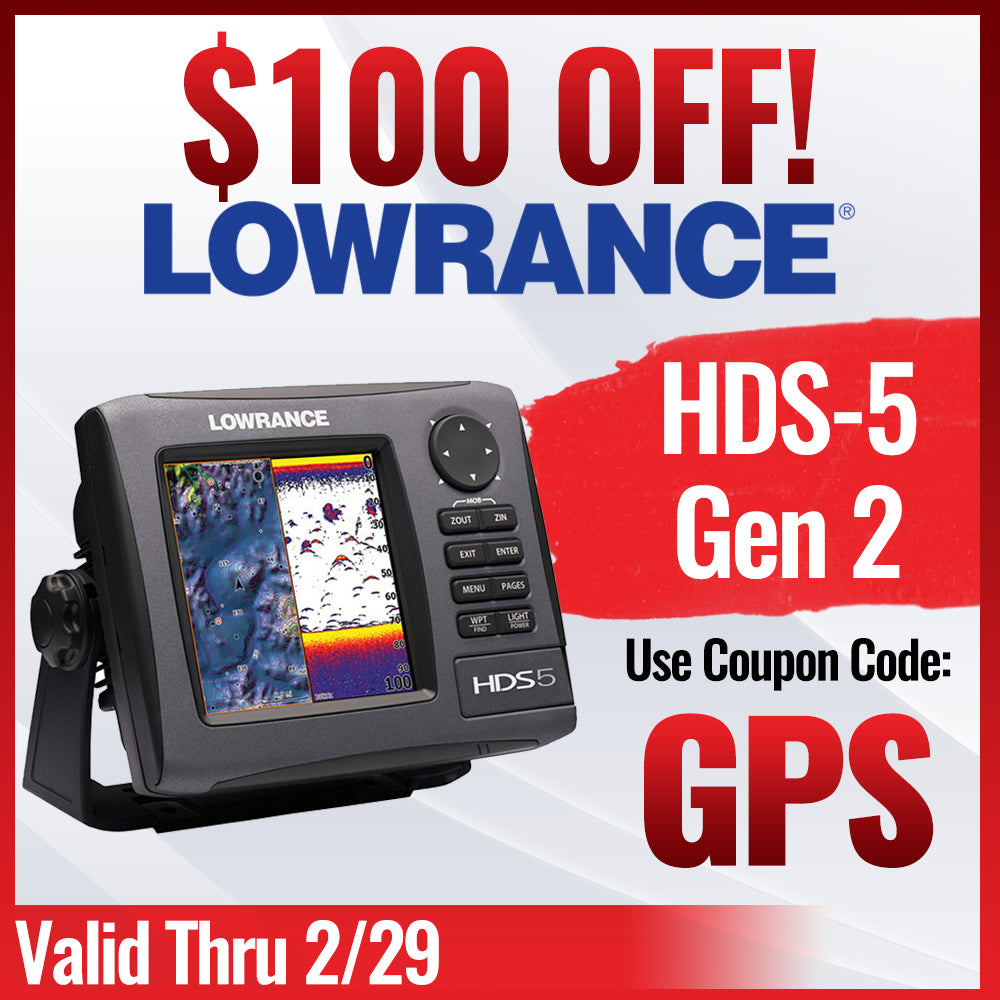 Lowrance HDS 5 Gen2 GPS Sale! $100 OFF! - Polaris RZR Forum