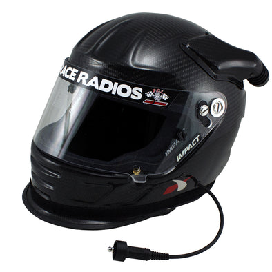 PCI Elite Wired Impact CARBON Air Draft OS20 SA2015 Helmet