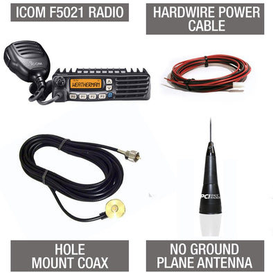 Icom F5021 Chase Package