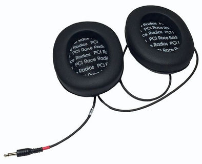 Ear Cups with Speakers - PCI Race Radios