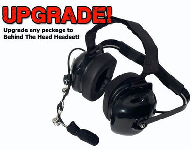 UPGRADE BTH Crew Chief Headset - PCI Race Radios