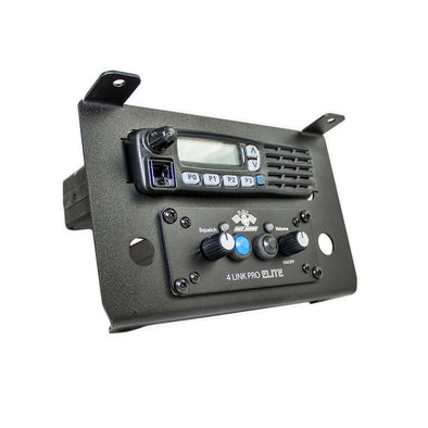 RZR Twist Lock Open Box Replacement Icom Radio and Intercom Bracket