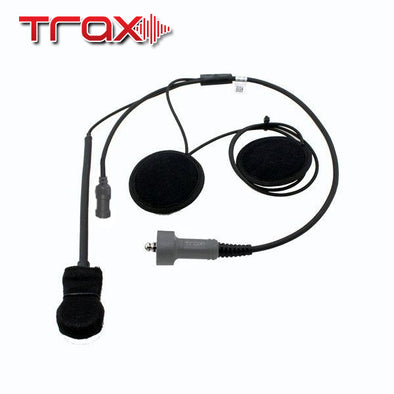 Trax Stereo Helmet Wiring Kit Speakers and Earjack
