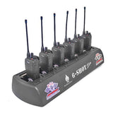 Used 6 Shot Gang Charger for F1000 Hand Held Radios