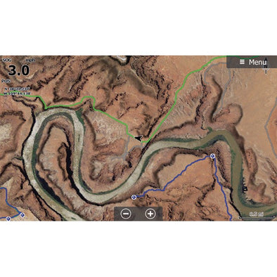 Moab Lowrance Map