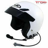 Trax HJC CS-5N Open Face Wired DOT Helmet