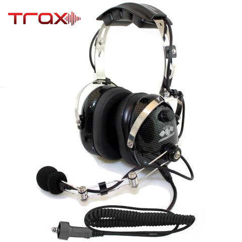 Trax Stereo Headset with Volume Control