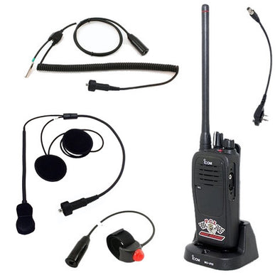 Motorcycle/Quad Package - Icom - PCI Race Radios - 1