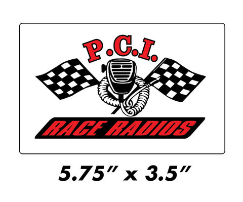 PCI Contingency Sticker - PCI Race Radios