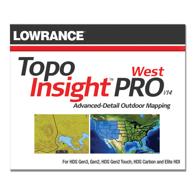 Lowrance Topo Insight PROWest