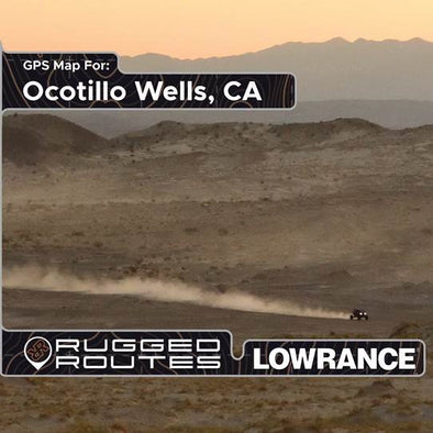 Ocotillo Lowrance Map