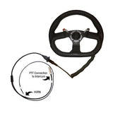 Quick Release Steering Wheel PTT Assembly with buttons