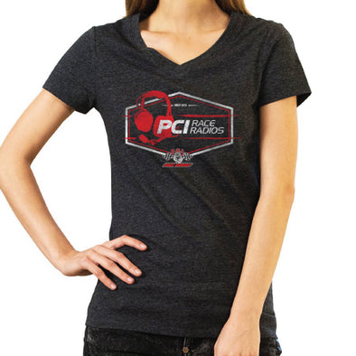 Ladies PCI Headset V Neck Shirt
